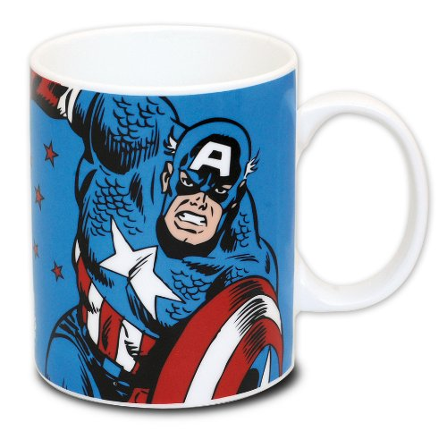 Captain America Tasse Marvel Comic/Kaffeetasse aus Porzellan - Marvel Comics