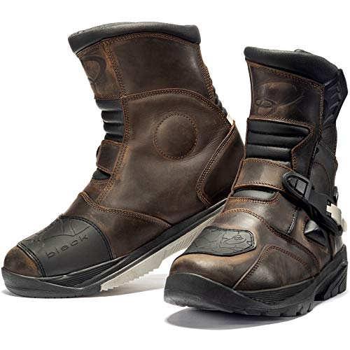 Forma FORC50/W-9938/Adventure Low WP Motorcycle Boots CE Approved 44 Black