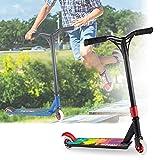 Scooter Patinete Niño Adulto, Patinetes Freestyle, Patinete De Acrobacias, Rotación 360 °, Apto Para Niños, Adolescentes Y Adultos Mayores De 8 Años