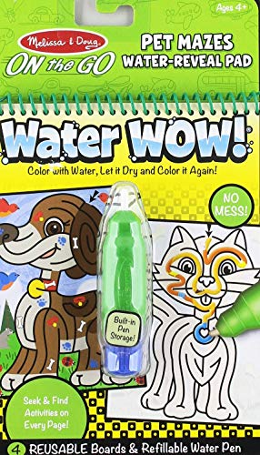Water Wow! Pet Mazes Water-Reveal Pad