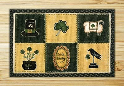Capitol Importing 76-1128 Irish Patch - 20 in. x 30 in. Rectangle