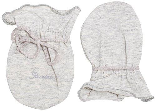 Sterntaler Moufles Anti-Griffures pour Bébé en Jersey, Âge: 0-6 Mois, Taille: 0, Gris clair