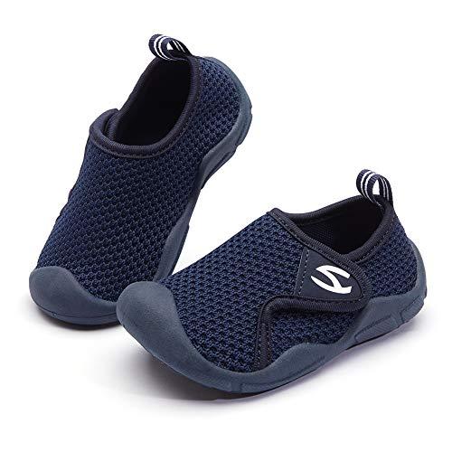 GUBARUN Toddler Boys Girls Sneakers Kids Lightweight Tennis Shoes Breathable(Blue Toddler 7)