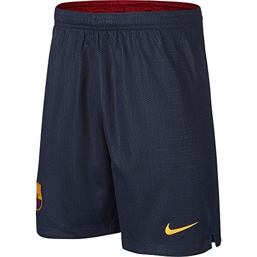 Nike FC Barcelona Breathe Stadium Short Home Pantaloncini Sportivi, Blu (Obsidian/University Gold 451), 48 (Taglia Produttore: X-Large) Uomo