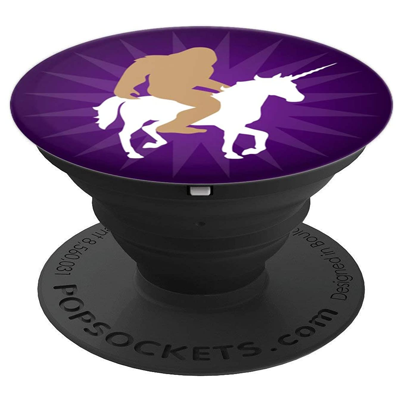 Bigfoot Unicorn Purple Ombre - PopSockets Grip and Stand for Phones and Tablets