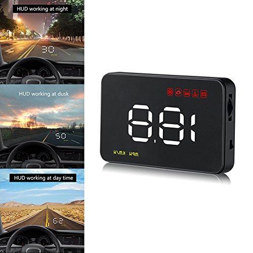 Livecity Universal Auto GPS HUD Digital Head Up Display de voiture excès de vitesse avertissement Accessoires