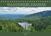 Wandererlebnisse im Bayrischen Wald (Tischkalender 2022 DIN A5 quer): Wandern in der Natur des Bayrischen Waldes (Monatskalender, 14 Seiten )