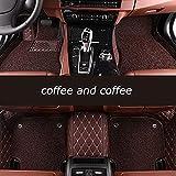 Pbewzq Alfombrillas Coche para Audi Alle Modelle A1 A3 A8 A7 S8 R8 TT Sq5 A6 A4 A5 S5 Q3 Q5 Q7 S6 S7 S3 Sr4-7, Alfombrilla Impermeables para Todo Clima Antideslizantes Alfombras Coche Accesorios