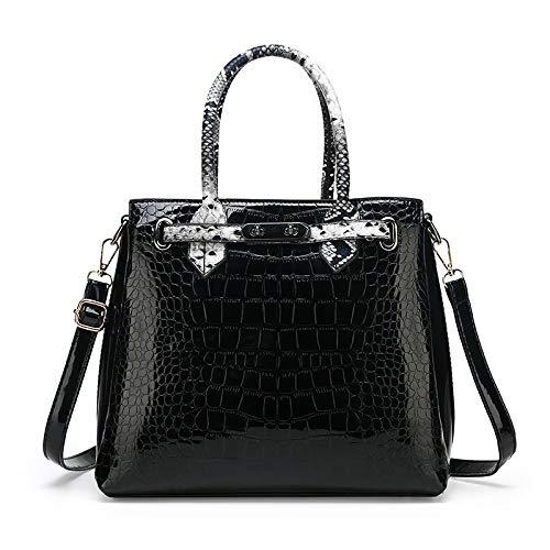 Ladies Shoulder Bag PU Fashion Stitching Color Multi-piece Set New Female Bag Messenger Handbag