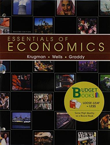 Essentials of Economics & Aplia 1 Semester Access Card