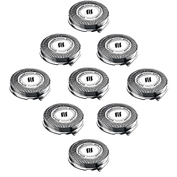 New HQ8 Replacement Heads for Philips Norelco aquatect Electric Shaver Razor Series HQ7,HQ8,AT8,PT7,PT8,new upgrade