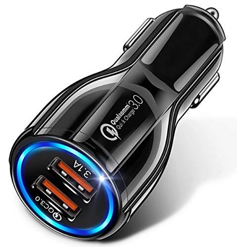 Usful Tech - Fast Charge USB Car Charger, Dual Port USB 3.0 Mini Car Phone...