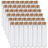Bekith 48pcs 45ml Glass Test Tubes 25x140mm...