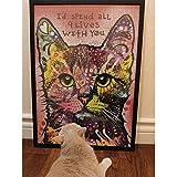qazwsx Adultos Tangram Cat Juego para Adultos Cat Family Jigsaw Puzzle Set Adult Tangram Toy Toy Gift Niños y Adolescentes Descompresión Intelectual