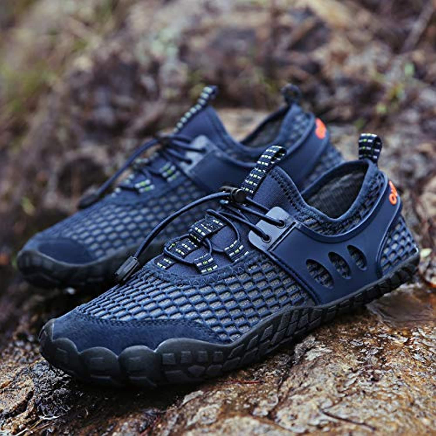 XYL HOME Water shoes, Wading shoesOutdoor Beach shoes Cross-Boundary River shoes Men and Women Five Fingers Swimming shoes Outdoor Wading Indoor Exercise Men