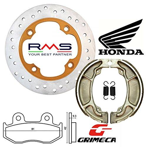 Kit freno Disco, Pastillas y Mordazas Honda Sh Dylan Passion Nes