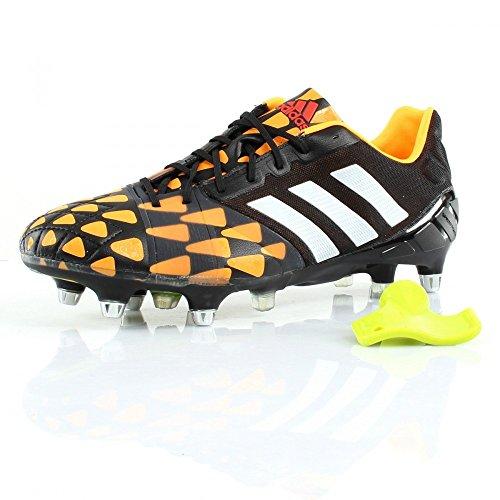 adidas - Nitrocharge 10 SG - M18430 - Color: White-Black-Orange - Size: 6.5