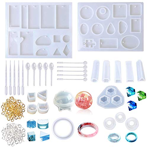 Healifty Silicone Moulds Silicone Moulds DIY Jewelry Beads Bath Bomb Craft Mold