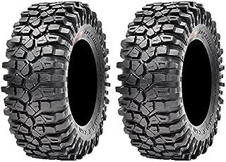 Pair of Maxxis Roxxzilla Radial (8ply) ATV Tires 30x10-14 (2)