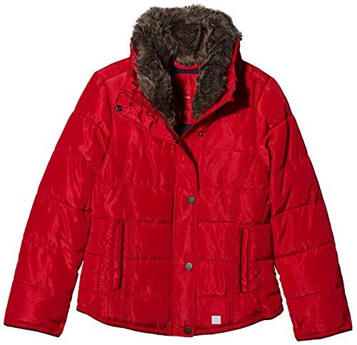 s.Oliver Mädchen 73.709.51.2340 Jacke, Rot (Dark Red 3500), 164 (Herstellergröße: L)