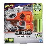 Nerf classico in microformato Perfetto per battaglie spontanee Vari mini blaster Micro Shots. Ognuno è venduto separatamente. Include due freccette Nerf Elite Adatto a bambini a partire da 8 anni