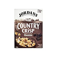Jordans Country Crisp with 70% Cocoa Dark Chocolate (500g) 70%のココアダークチョコレートとさわやかなジョーダンの国( 500グラム)