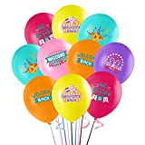 30Pcs Happiness Welcome Back Balloons, 12'We Missed You Latex Balloon for Kids Baby Shower Birthday Party Supplies Decorations