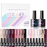 Best Gel Polish Kits - Gellen Gel Nail Polish Kit 16 Colors With Review
