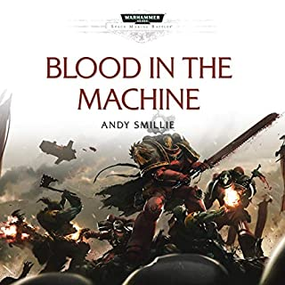 Blood in the Machine audiobook cover art
