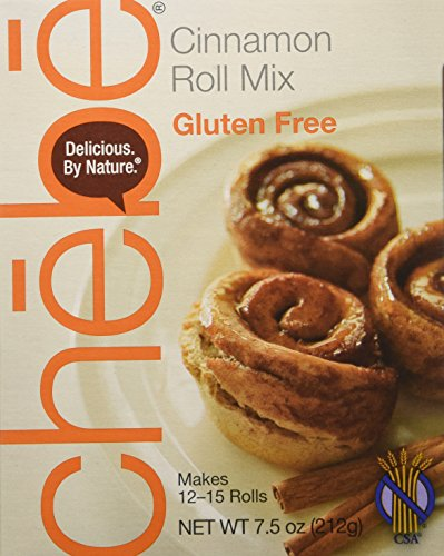 CHEBE BREAD Cinnamon Roll Mix, 7.5 OZ