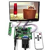 VSDISPLAY 7' 7 Inch 1280X800 IPS LCD Screen N070ICG-LD1 with HD-MI VGA 2AV LCD Controller Board & Remote Control