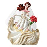 Enesco 4045444 Disney Show Case Figurina, Belle, Resina, 20,5 cm