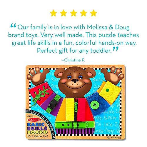 Melissa & Doug Basic Skills Puzzle Board -