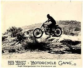 Motorcycle Gang Original Lobby Card 1957 Bikers Stunt