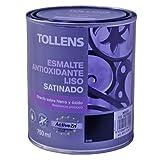 Tollens 8711 Esmalte Antioxidante Liso Satinado, Negro, 750 ml