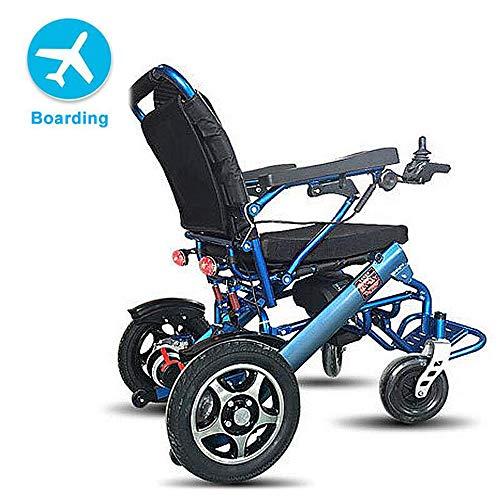 Elektrische kinderwagen, inklapbaar, licht, mobiel, met lithiumbatterij, afneembaar met vier wielen van aluminiumlegering, geen glijden, transport, vliegtuig, duurzaam, veilig en eenvoudig.