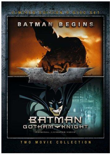 Batman Begins / Gotham Knight [3 DVDs] [UK Import]