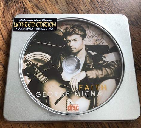 Find Cheap Faith ~ George Michael Alternate Cover Limited Edition Tin Box CD