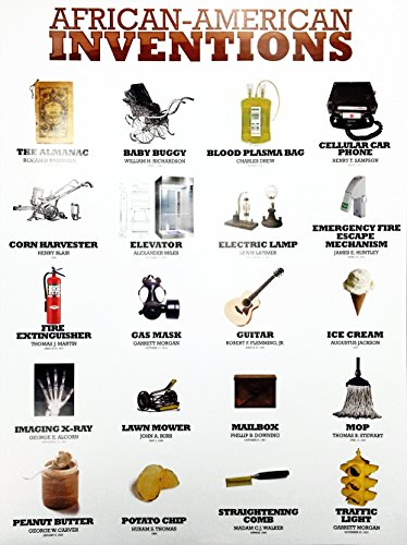 777 Tri-Seven Entertainment African American Inventions Poster Black History Famous People Inventors, 18