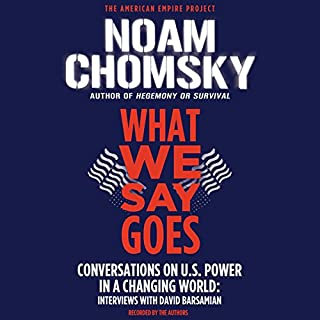 What We Say Goes audiobook cover art