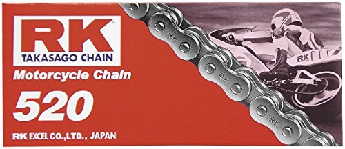 RK Racing Chain 4107-989S Steel Rear Sprocket and 520GXW Chain 520 Steel Conversion Kit