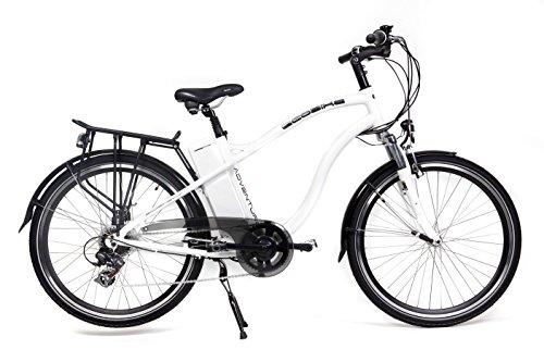 Bicicleta Eléctrica de Montaña Off-Road (Todocamino) Adventure Blanca