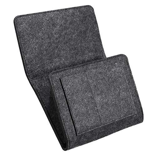 LanGuShi LGJ0305 Bolsillo de Almacenamiento en la Cama Bolsa Colgante de la Bolsa de Fieltro de sofá Libro Organizador de habitación distante Multifunción
