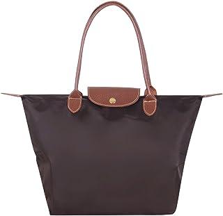 Cckuu Women Casual Handbag Tote Nylon Durable Fashion Messenger Handle Bag