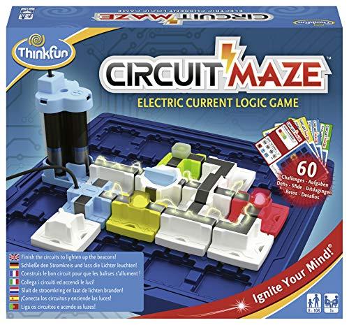 ThinkFun 76341 - Circuit Maze® - das spannungsgeladene Logikspiel von k®