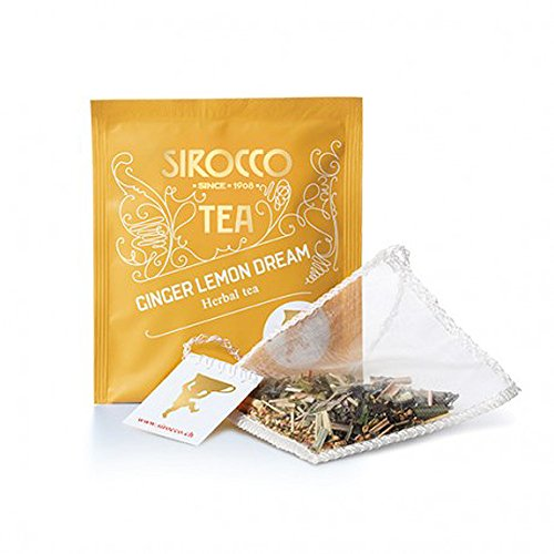 SIROCCO TEE - Ginger Lemon Dream - Organisches Tee - 20 Teebeutel