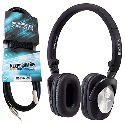 Ultrasone GO Bluetooth Kopfhörer + keepdrum Verlängerungskabel 3, 5mm