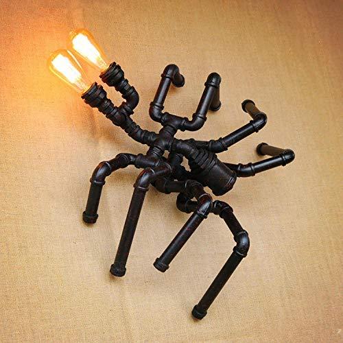 Apliques de pared de tubería de agua en forma de araña Estilo...