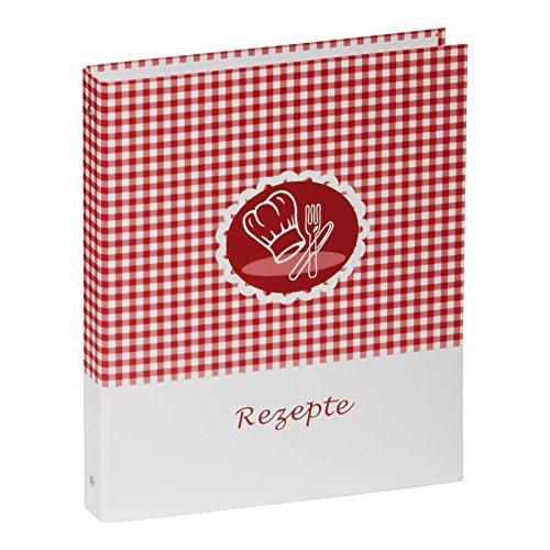 Pagna 31317-15 Rezeptringbuch A4 Kockmütze, Motivdruck laminiert, 4-Ring-Mechanik 4-teilig Kartonregister