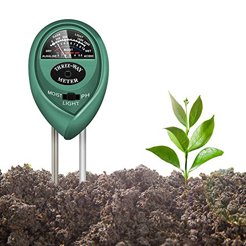 Ifortee plus 3 in 1 Soil Tester pH Tester Moisture Meter for Gardening and Planting